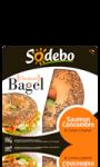 L\'instant Bagel saumon concombre & cream cheese Sodebo