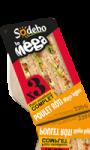 Sandwich le Méga Poulet rôti mayo légère Sodebo