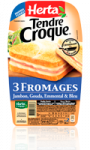 Tendre Croque 3 Fromages Herta