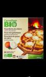 Pizza bà»che de chèvre bio Carrefour Bio
