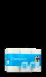 Papier hygiénique compact Carrefour