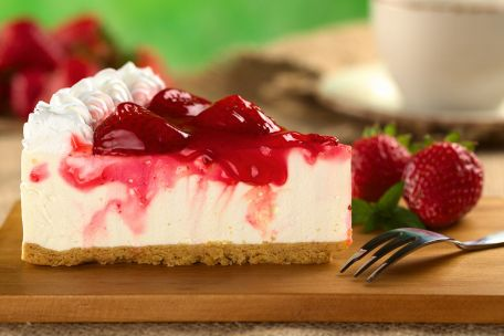 RECIPE MAIN IMAGE Cheesecake aux fruits rouges