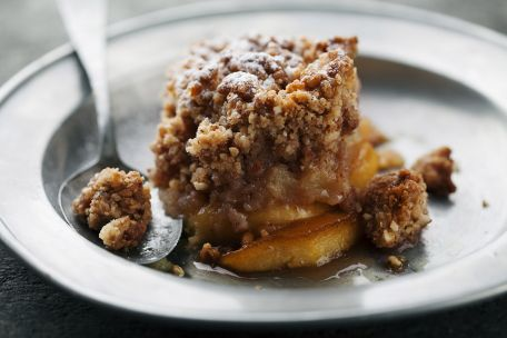 RECIPE MAIN IMAGE Crumble pommes/cannelle