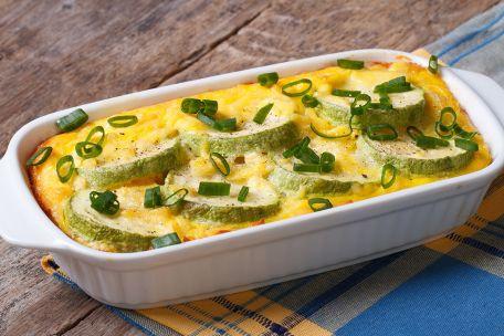 RECIPE MAIN IMAGE Gratin de courgette au fromage de brebis