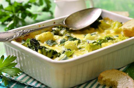 RECIPE MAIN IMAGE Clafoutis aux brocolis et au gruyère