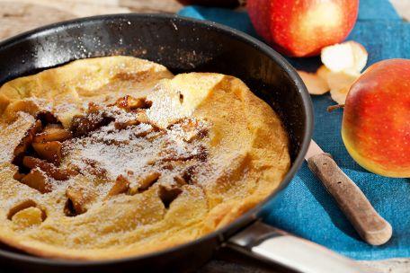 RECIPE MAIN IMAGE Omelette sucrée aux pommes