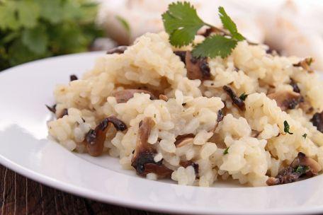 RECIPE MAIN IMAGE Risotto aux cèpes et au jambon