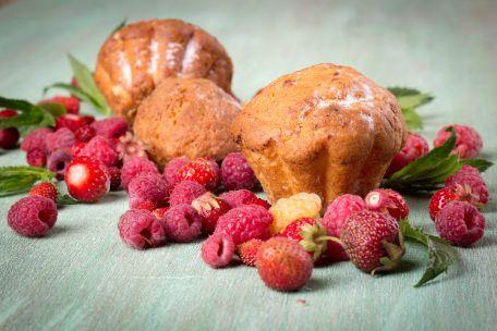 RECIPE MAIN IMAGE Muffins d\'avoine aux framboises