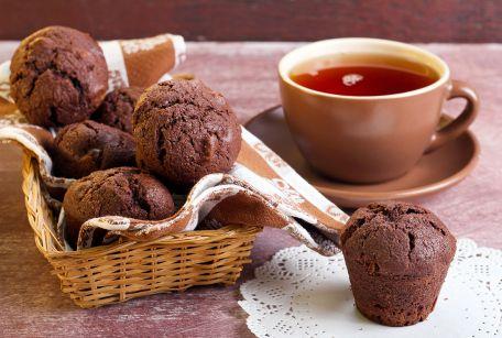 RECIPE MAIN IMAGE Muffins à la polenta et au chocolat