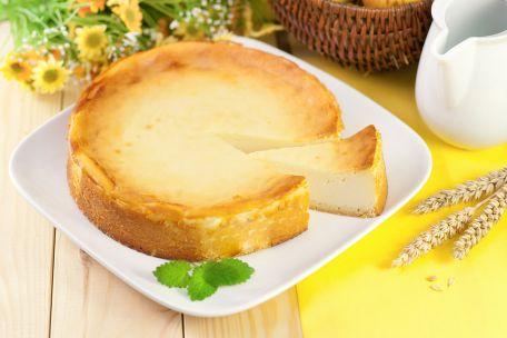 RECIPE MAIN IMAGE Gâteau au fromage blanc sans pâte et sans sel