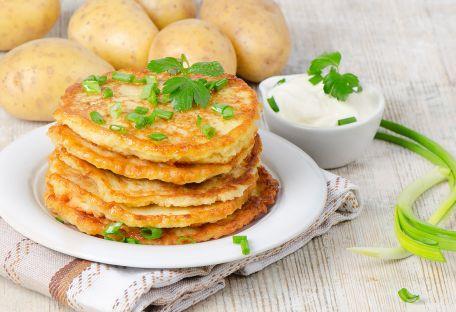 RECIPE MAIN IMAGE Crèpes de pommes de terre