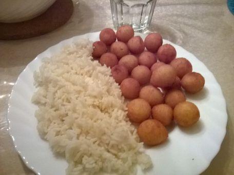 RECIPE MAIN IMAGE Pomme noisette riz blanc