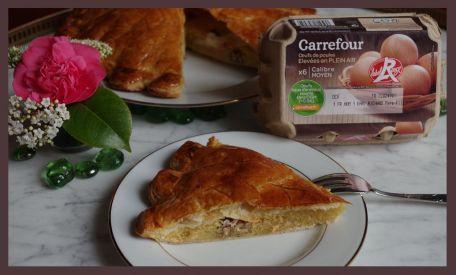 RECIPE MAIN IMAGE Galette Frangipane aux noix et Fleur de Sel
