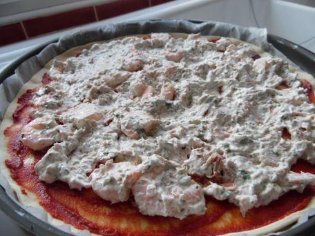 recette pizza aux crevettes et thon shopadvizor. Black Bedroom Furniture Sets. Home Design Ideas