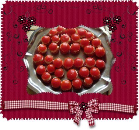 RECIPE MAIN IMAGE Tomates cerise fourrées