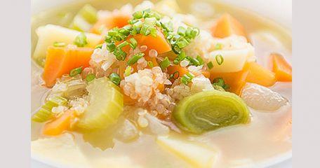 RECIPE MAIN IMAGE Soupe de légumes au quinoa