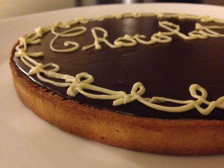 RECIPE MAIN IMAGE Tarte au chocolat