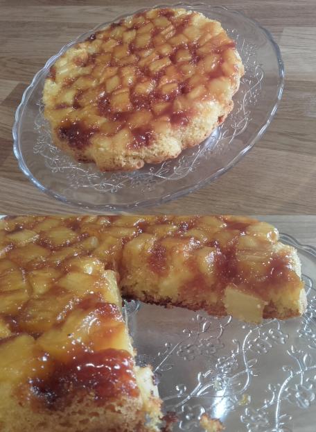 RECIPE MAIN IMAGE Gâteau à l 'ananas