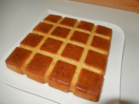 RECIPE MAIN IMAGE Gâteau au citron et à la courgette