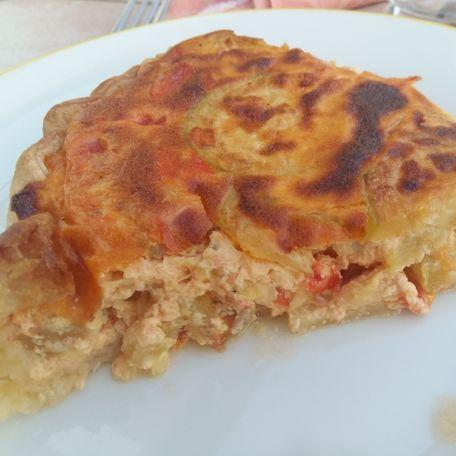 RECIPE MAIN IMAGE Tarte courgettes tomates