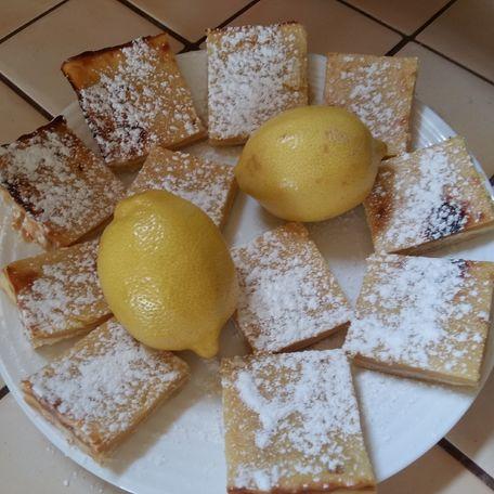 RECIPE MAIN IMAGE Carrés au citron
