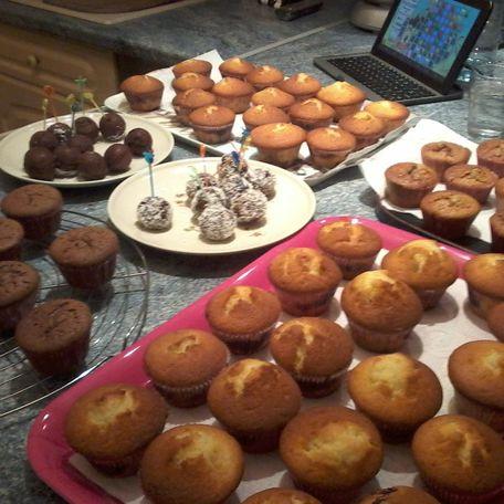 RECIPE MAIN IMAGE Muffins aux fruits rouges et sucre vanille  bourbon