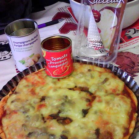 RECIPE MAIN IMAGE Pizza avec la farine mon fournil