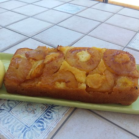 RECIPE MAIN IMAGE Gateau aux pommes caramélisées