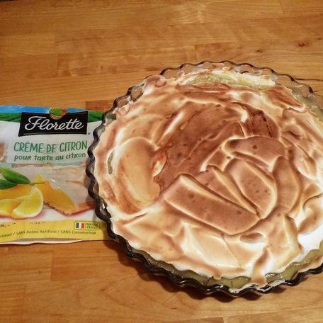 RECIPE MAIN IMAGE Tarte au citron florette