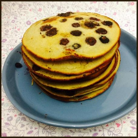 RECIPE MAIN IMAGE Pancakes myrtilles