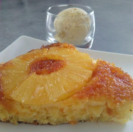 RECIPE MAIN IMAGE Gâteau mousseux à l\'ananas
