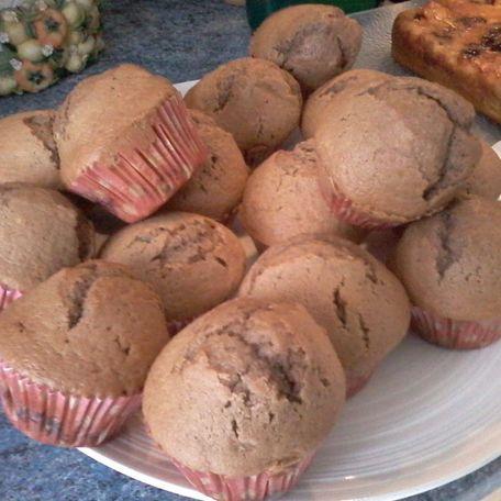 RECIPE MAIN IMAGE Muffins choco bananes
