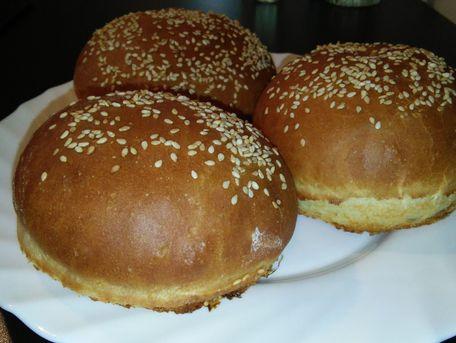 RECIPE MAIN IMAGE Pains à burger maison