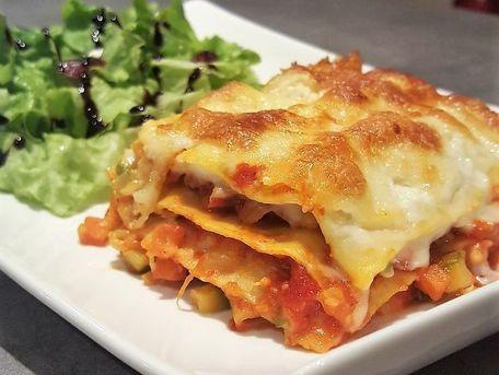 RECIPE MAIN IMAGE Lasagnes aux légumes et au poulet