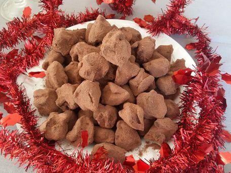 RECIPE MAIN IMAGE Truffes au chocolat