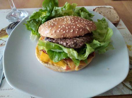 RECIPE MAIN IMAGE Hamburger maison