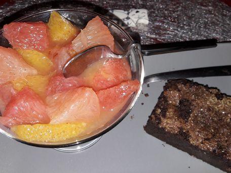 RECIPE MAIN IMAGE Salade de pamplemousses et d'oranges