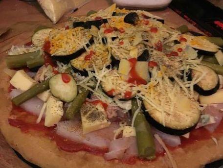 RECIPE MAIN IMAGE Pizza bio au coeur de Cabillaud et cetera