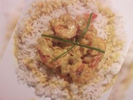 RECIPE MAIN IMAGE Crevettes indiennes au curcuma et paprika