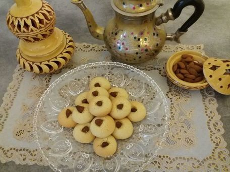 RECIPE MAIN IMAGE Biscuits aux amandes