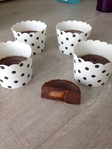 RECIPE MAIN IMAGE Fondant chocolat coeur de Spéculoos