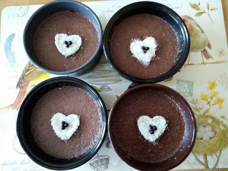 RECIPE MAIN IMAGE Crème chocolat et noix de coco .