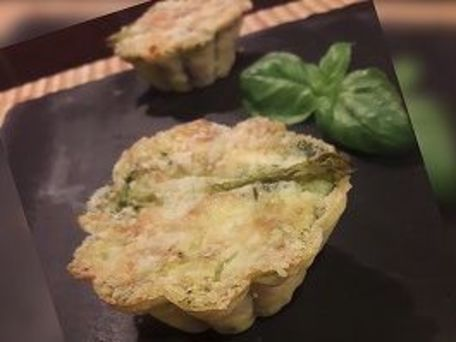 RECIPE MAIN IMAGE Clafoutis aux asperges vertes