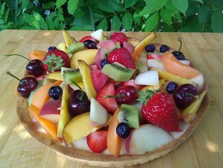 RECIPE MAIN IMAGE Tarte aux fruits d'été