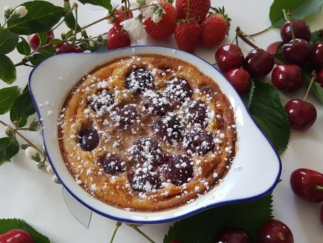 RECIPE MAIN IMAGE Clafoutis