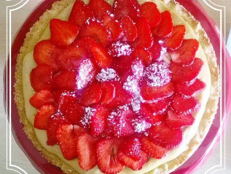 RECIPE MAIN IMAGE Ma tarte aux fraises