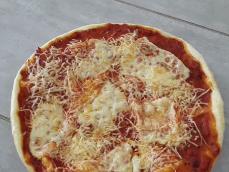 RECIPE MAIN IMAGE La pizza des enfants