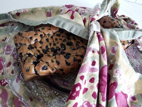 RECIPE MAIN IMAGE Cake aux myrtilles et graine de chia