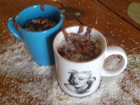 RECIPE MAIN IMAGE Mug cake chocolat coulant cuit en 2 minutes