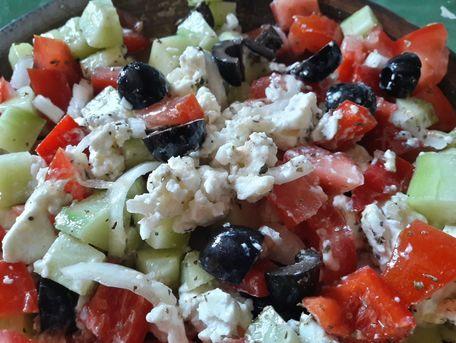 RECIPE MAIN IMAGE Salade grecque